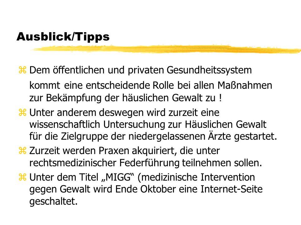 Ausblick/Tipps