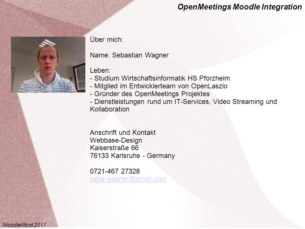 OpenMeetings Moodle Integration
