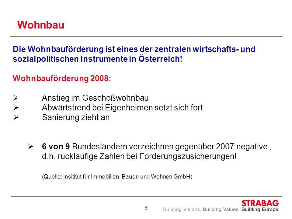 Wohnbau Die Wohnbauförderung ist eines der zentralen wirtschafts- und sozialpolitischen Instrumente in Österreich!