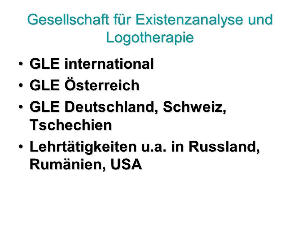 Gesellschaft für Existenzanalyse und Logotherapie