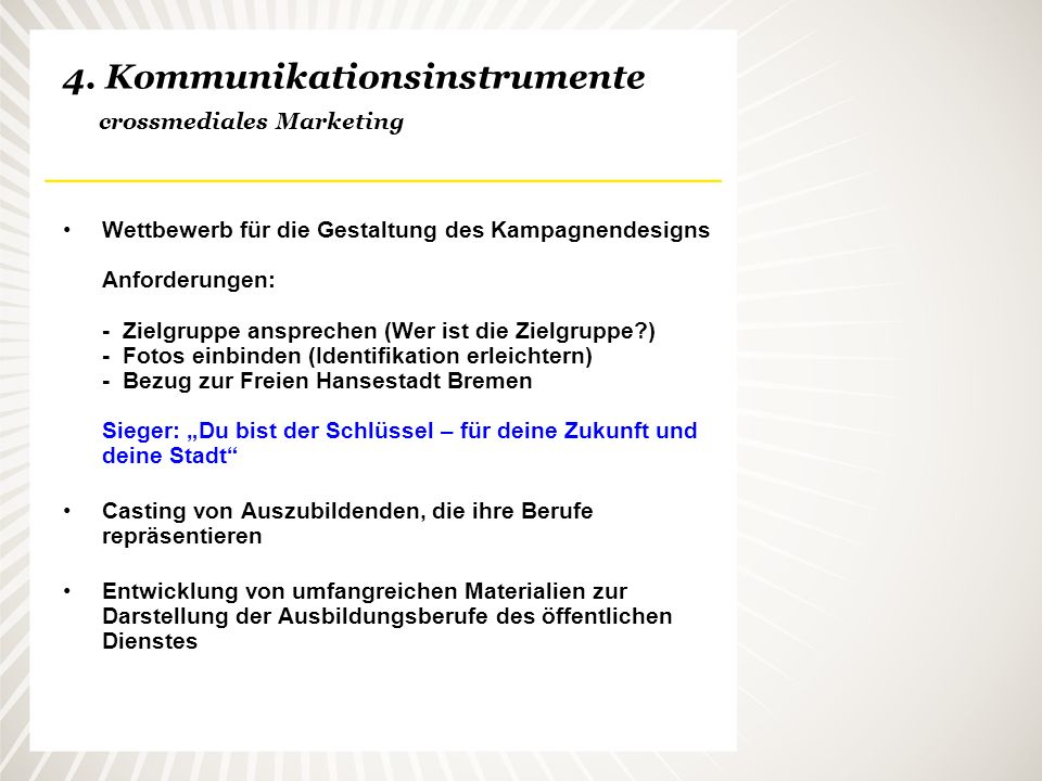 4. Kommunikationsinstrumente crossmediales Marketing