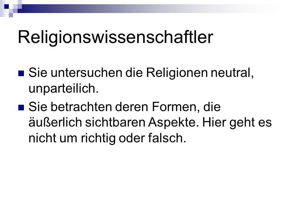 Religionswissenschaftler