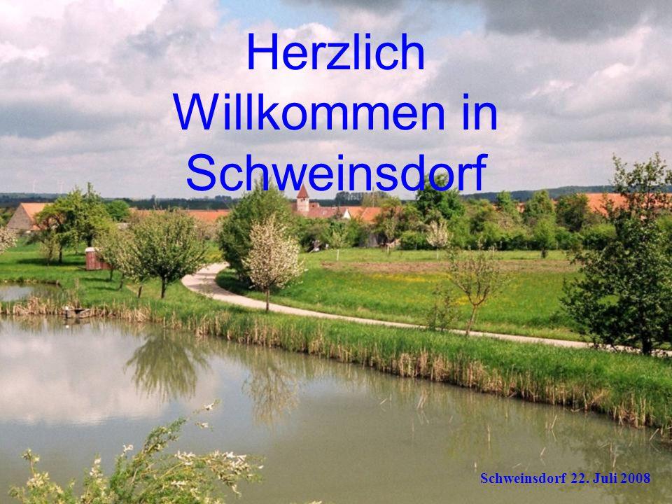 Herzlich Willkommen in Schweinsdorf