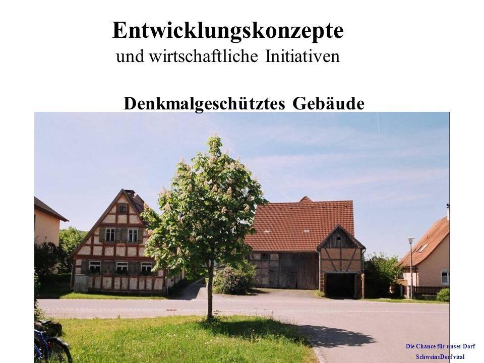 Denkmalgeschütztes Gebäude Die Chance für unser Dorf