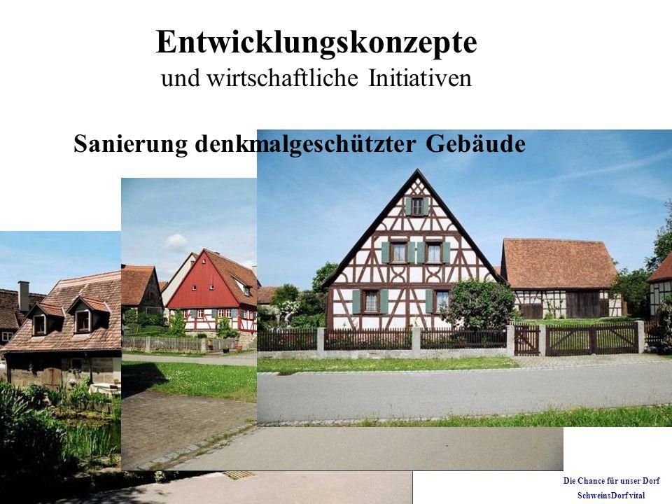 Sanierung denkmalgeschützter Gebäude Die Chance für unser Dorf