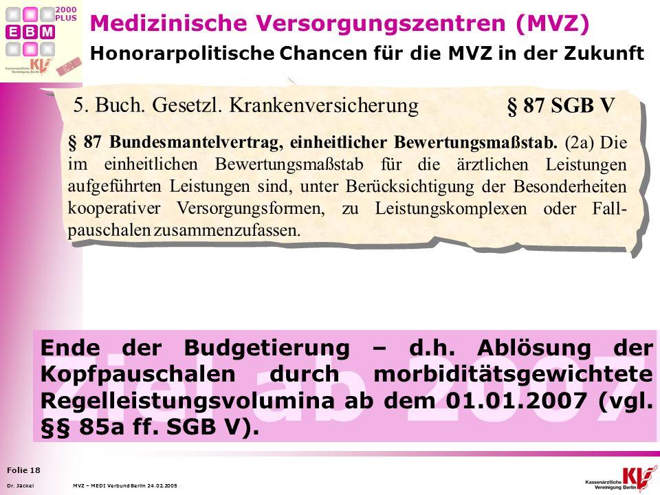 MVZ – MEDI Verbund Berlin 24.02.2005