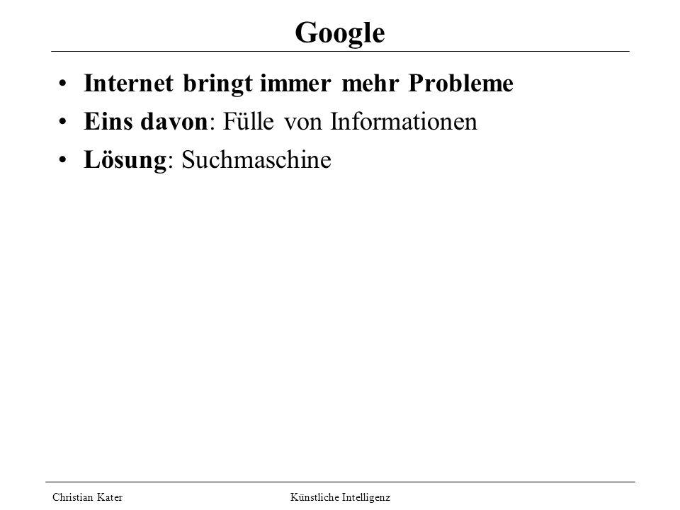 Google Internet bringt immer mehr Probleme