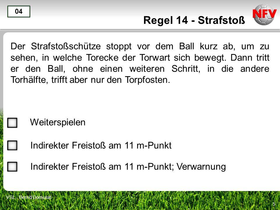 Regel 14 - Strafstoß 04.