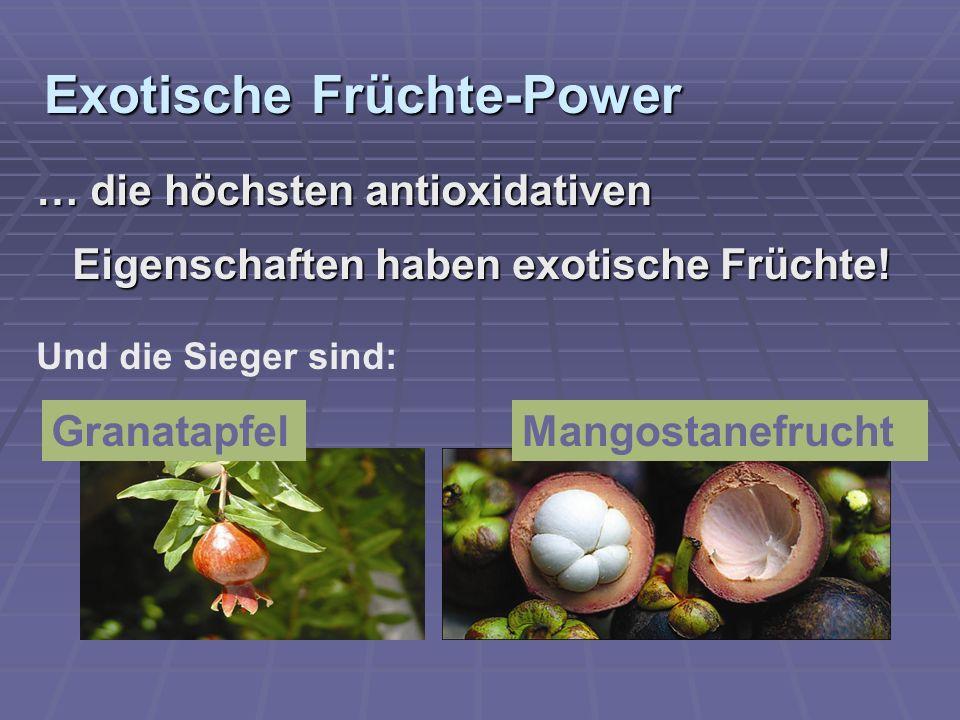 Exotische Früchte-Power