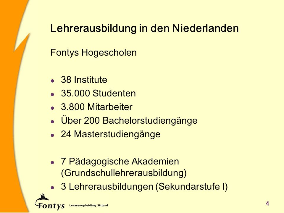 Lehrerausbildung in den Niederlanden
