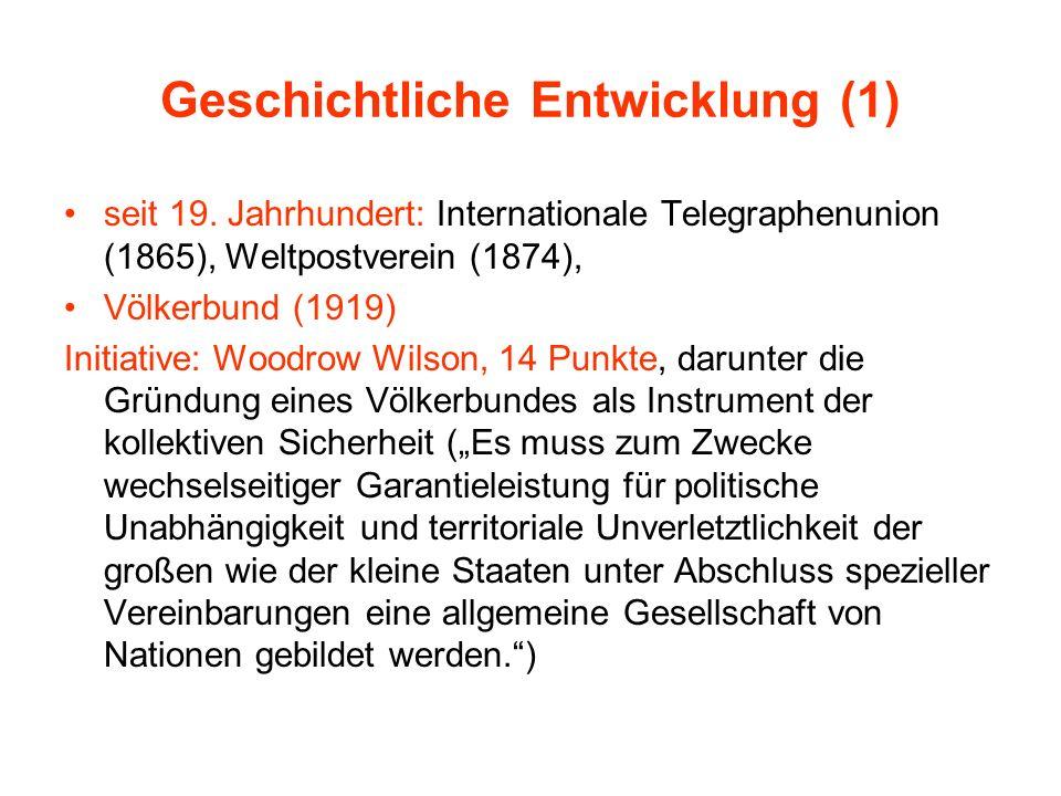 Geschichtliche Entwicklung (1)