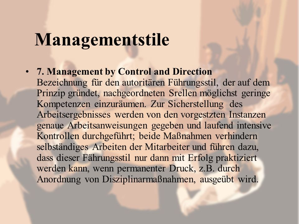 Managementstile