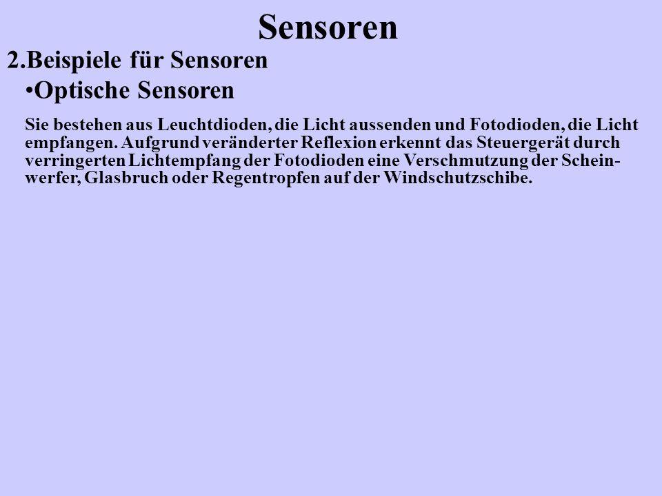2.Beispiele für Sensoren