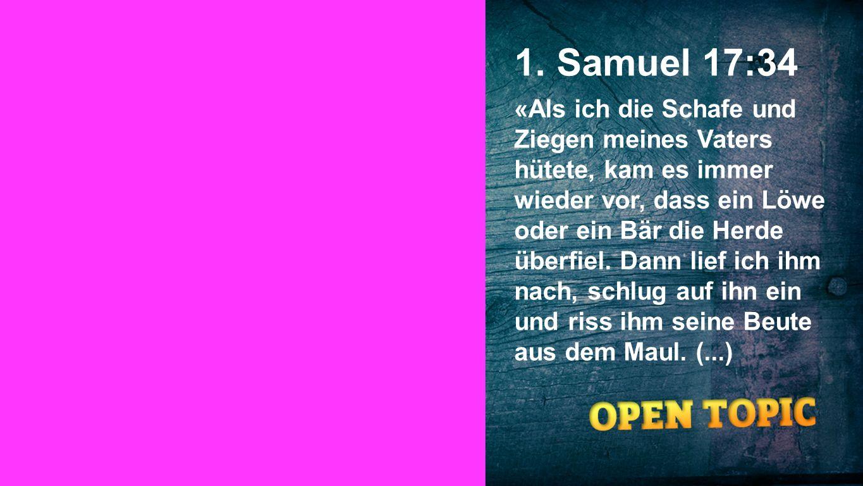 1. Samuel 17:34 Seiteneinblender