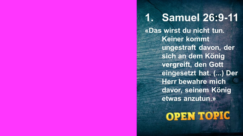 Samuel 26:9-11 Seiteneinblender