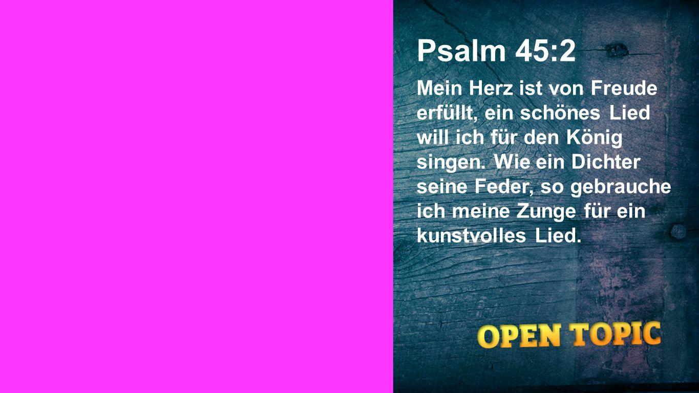 Psalm 45:2 Seiteneinblender