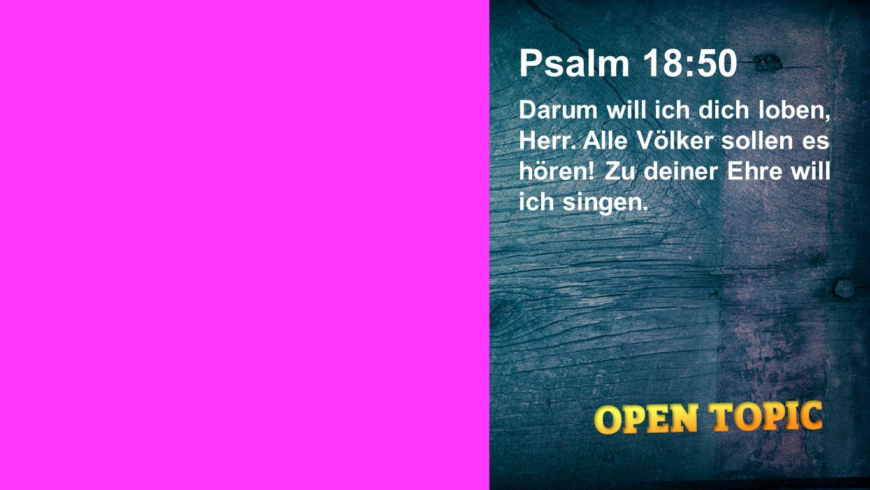 Psalm 18:50 Seiteneinblender