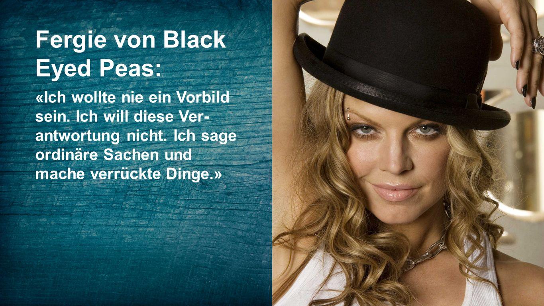 Fergie von Black Eyed Peas: