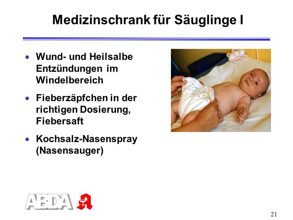 Medizinschrank für Säuglinge I