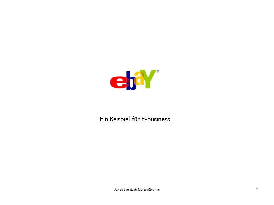 Ein Beispiel für E-Business