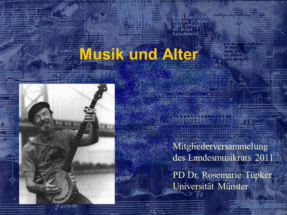 Musik und Alter Mitgliederversammelung des Landesmusikrats 2011