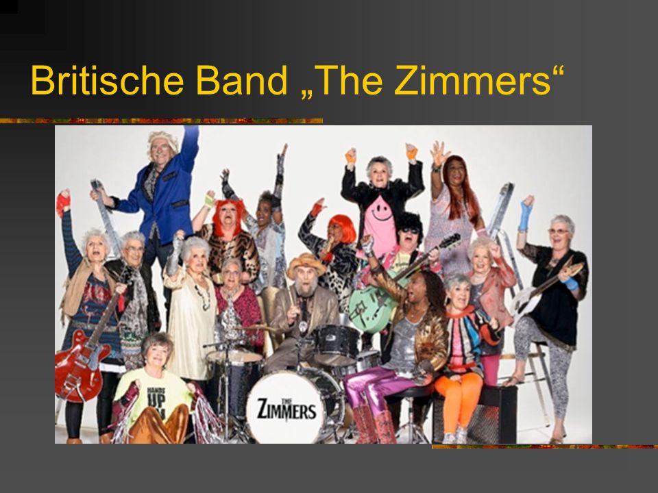 "Britische Band ""The Zimmers"