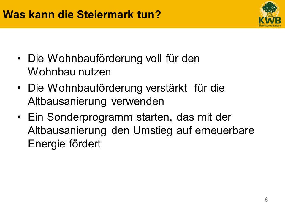 Was kann die Steiermark tun