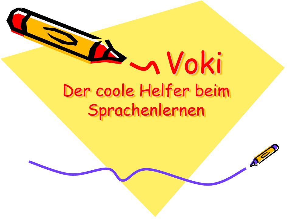 Voki Der coole Helfer beim Sprachenlernen