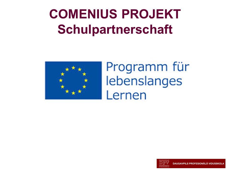 COMENIUS PROJEKT Schulpartnerschaft