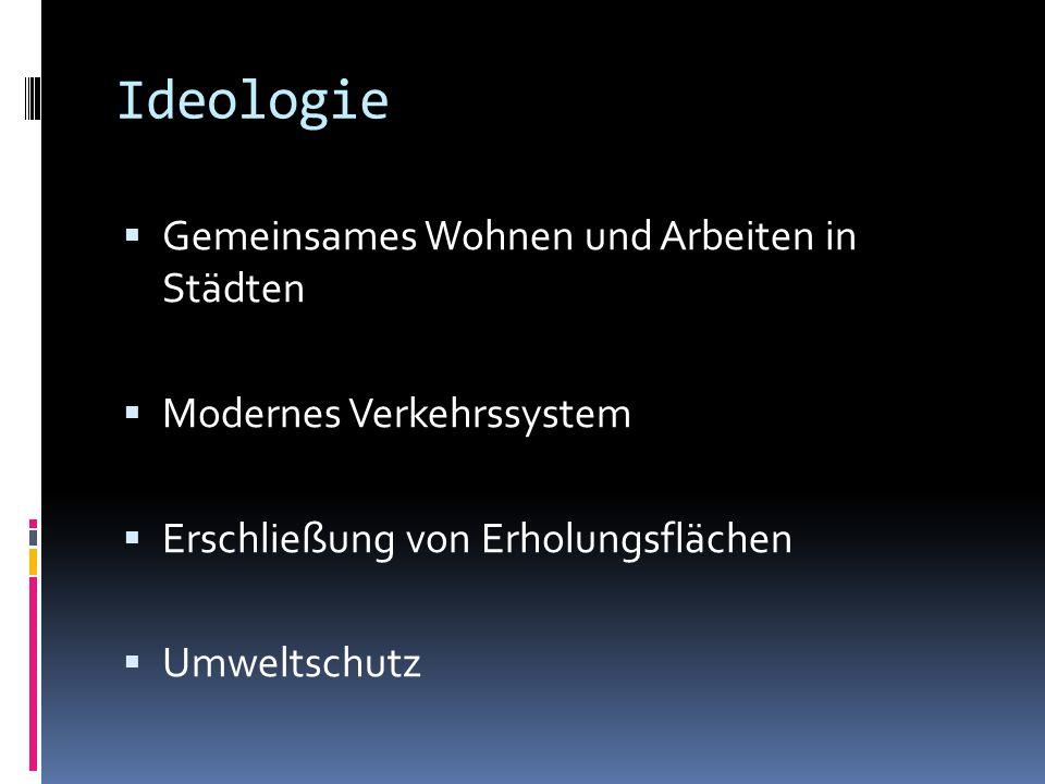 Ideologie Gemeinsames Wohnen und Arbeiten in Städten