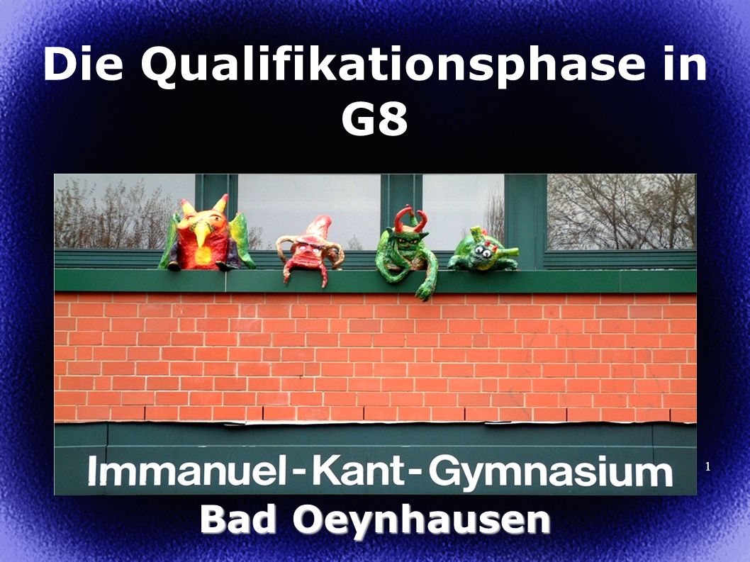 Die Qualifikationsphase in G8