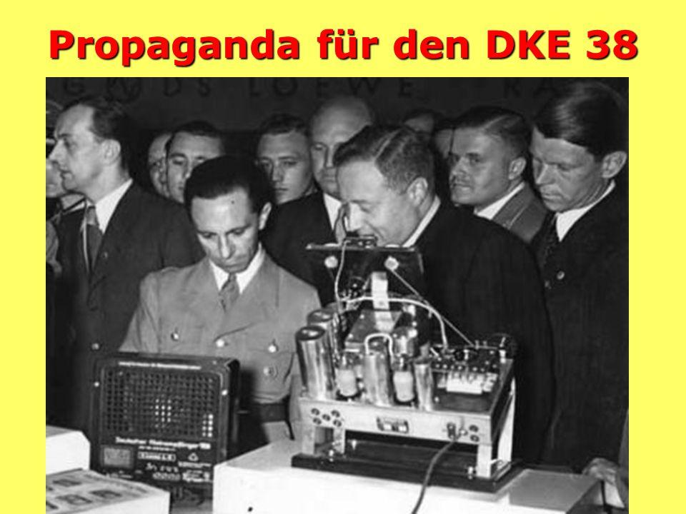 Propaganda für den DKE 38