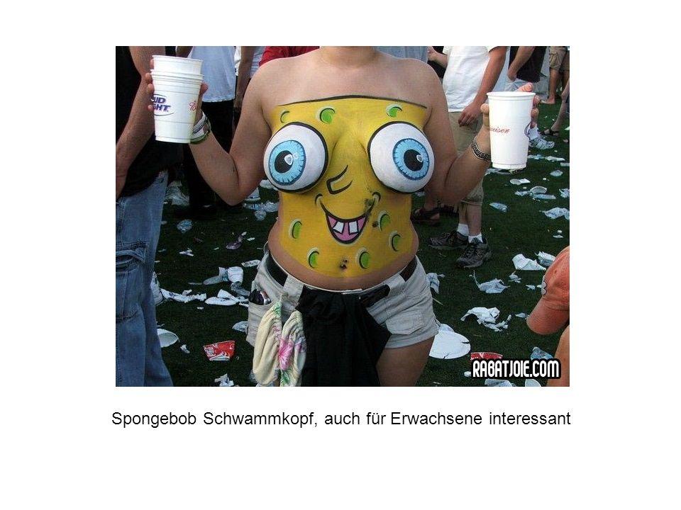 Spongebob Schwammkopf, auch für Erwachsene interessant