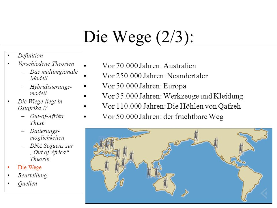 Die Wege (2/3): Vor 70.000 Jahren: Australien