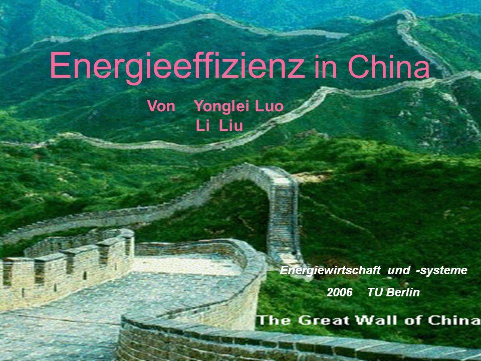 Energiewirtschaft und -systeme