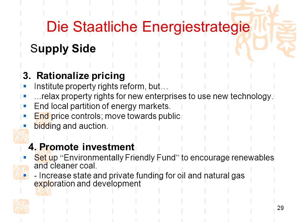 Die Staatliche Energiestrategie