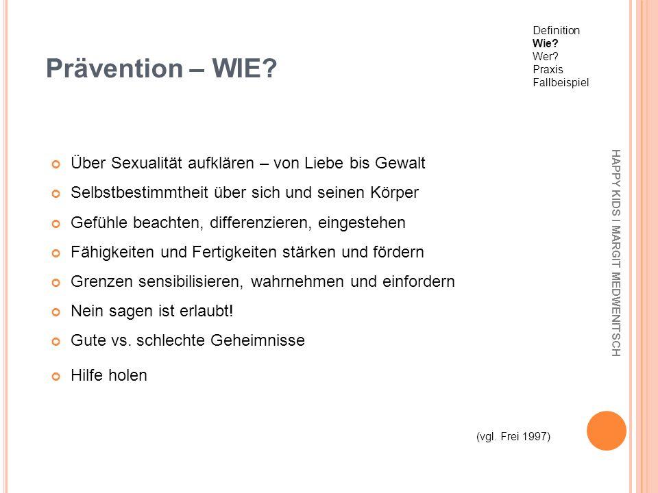 Prävention – WIE Über Sexualität aufklären – von Liebe bis Gewalt