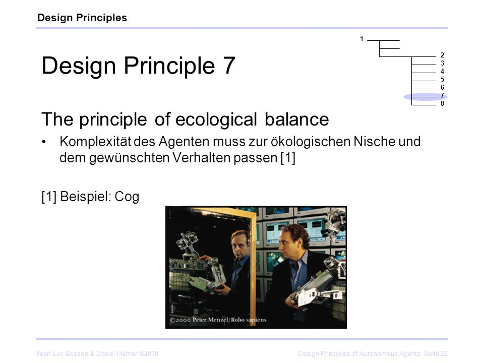 Design Principle 7 The principle of ecological balance