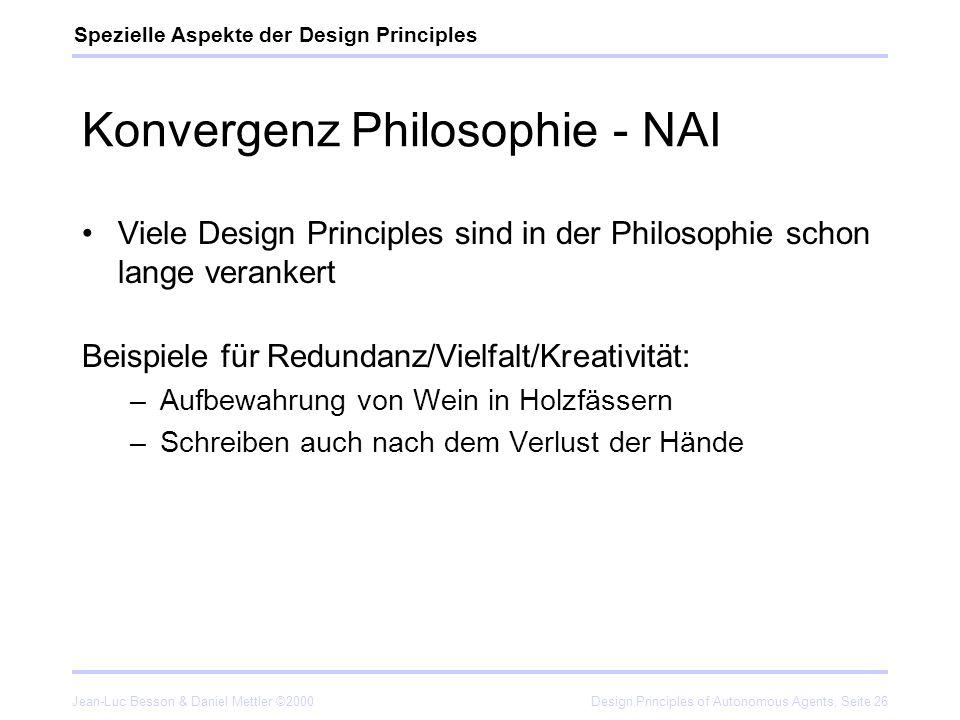 Konvergenz Philosophie - NAI