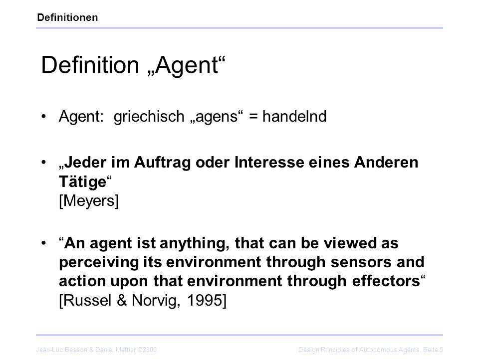 """Definition """"Agent Agent: griechisch """"agens = handelnd"""