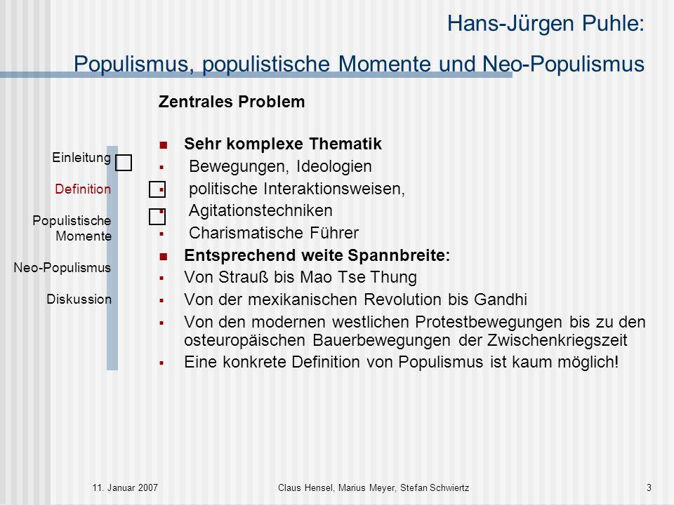 Grobe Grundstrukturen: