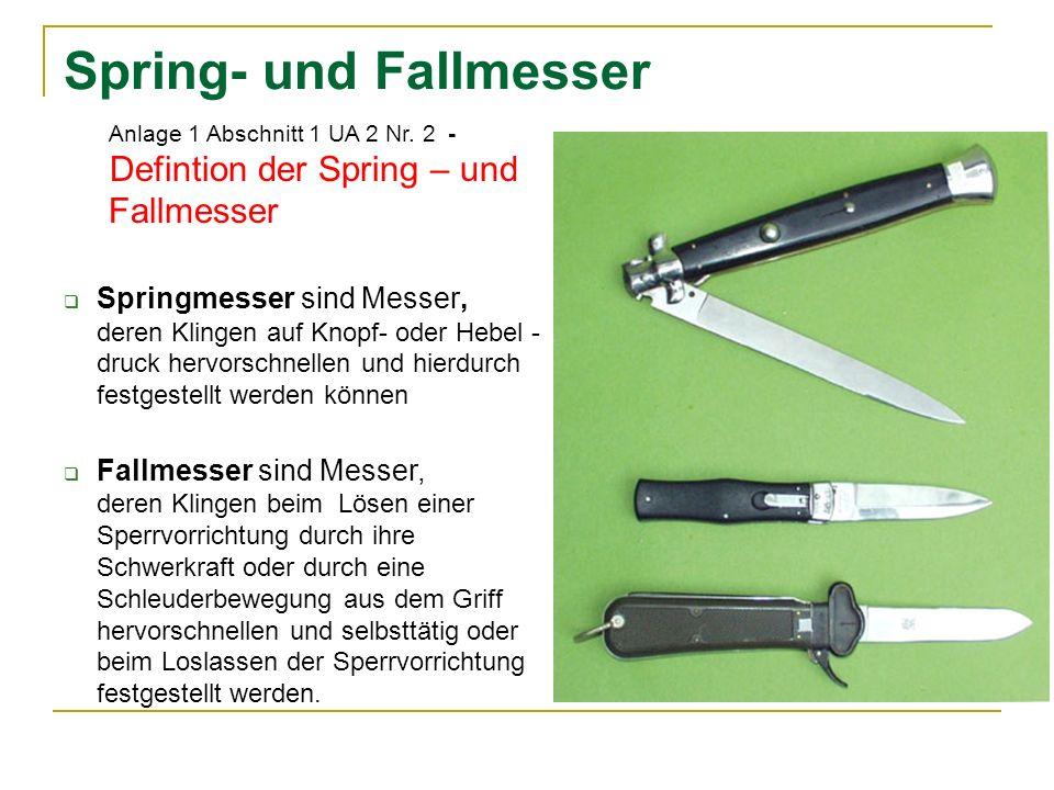 Spring- und Fallmesser