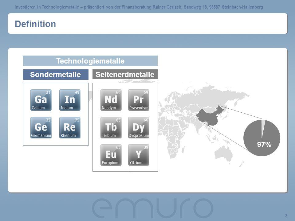 Definition Technologiemetalle Sondermetalle Seltenerdmetalle 97%