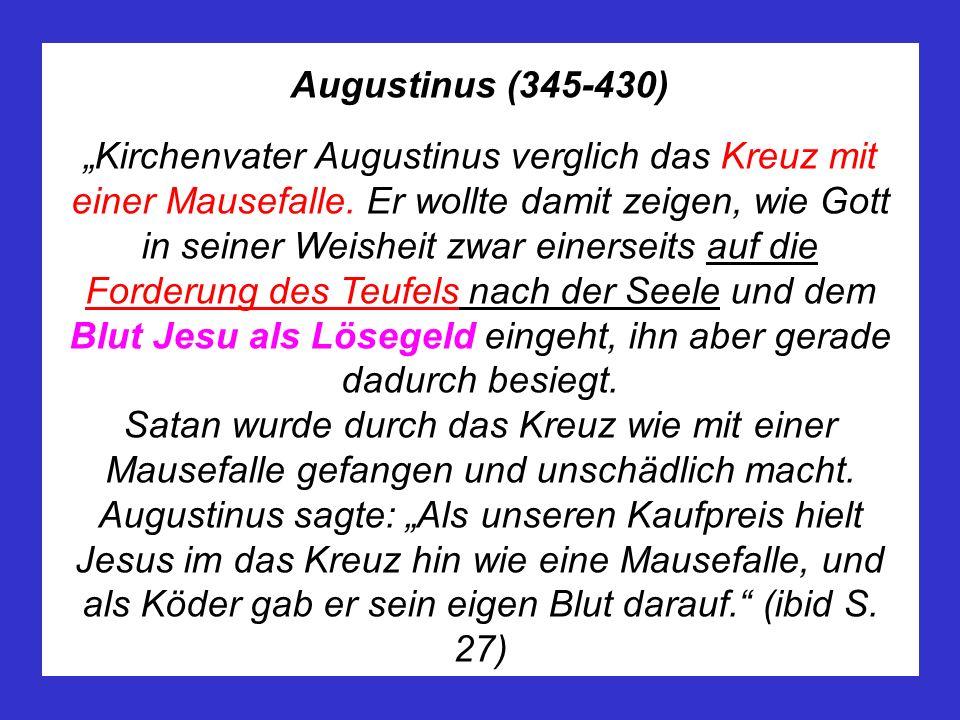 Augustinus (345-430)