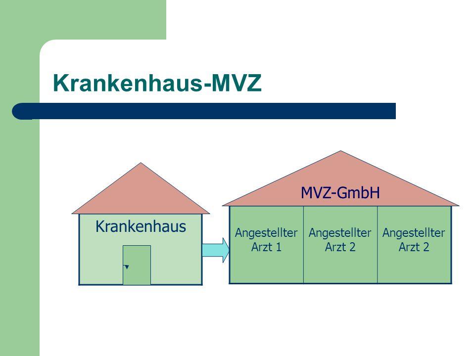 Krankenhaus-MVZ Krankenhaus MVZ-GmbH Angestellter Arzt 1