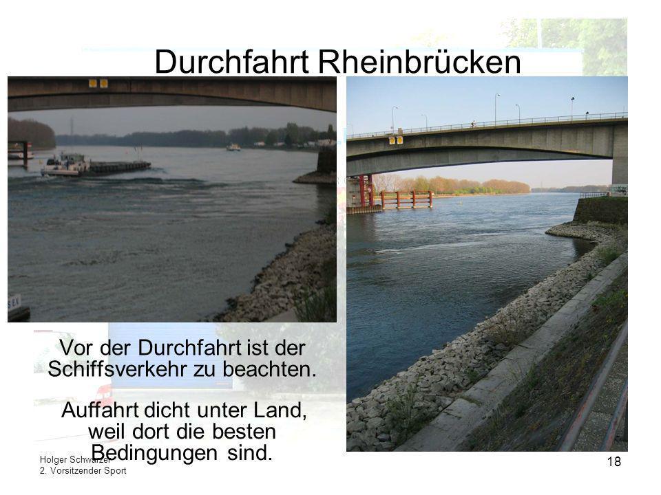 Durchfahrt Rheinbrücken