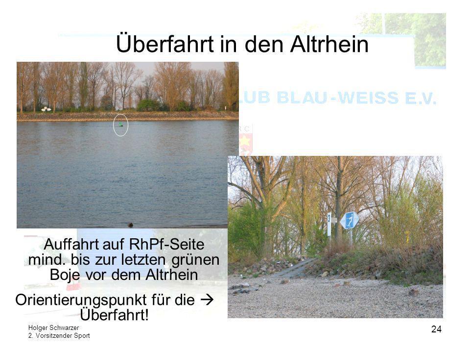 Überfahrt in den Altrhein