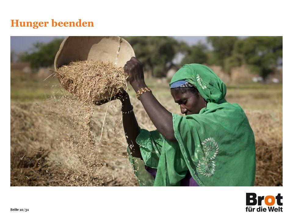 Hunger beenden Foto Christoph Püschner/Brot für die Welt