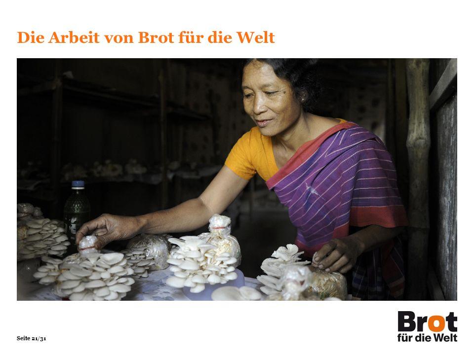 Die Arbeit von Brot für die Welt