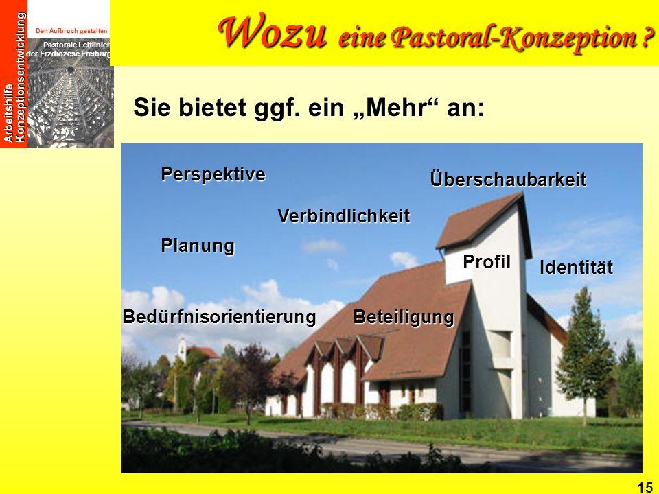 Wozu eine Pastoral-Konzeption